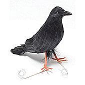 Feather Raven - 23cm Halloween Prop