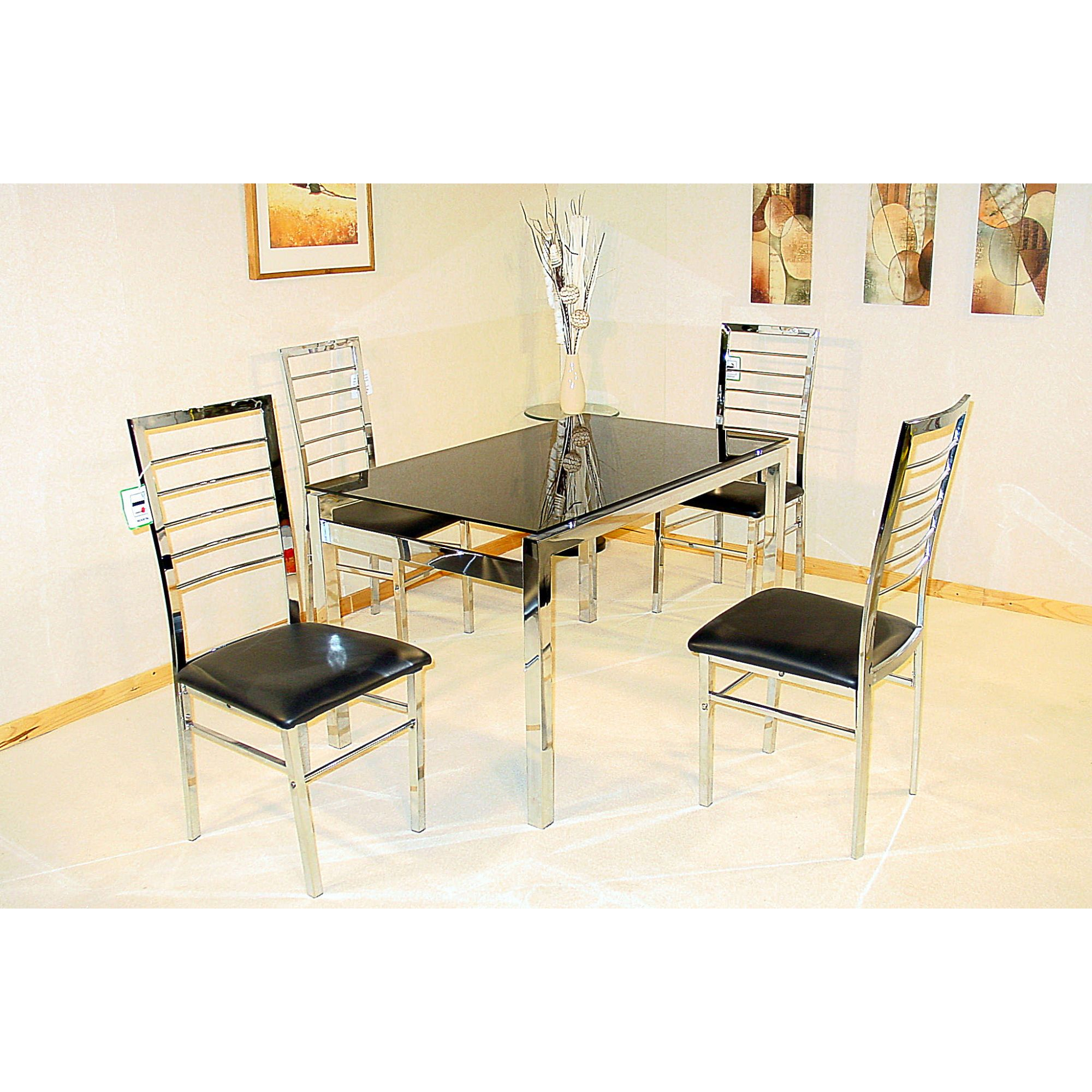 Heartlands Furniture Eton 5 Piece Dining Set at Tesco Direct