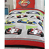 Motor Racing, Boys Race Car Themed Junior Bedding