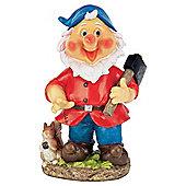 Tesco Wobble head red gnome