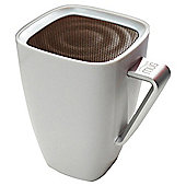 Wowthem Mighty Sound Mug Bluetooth Speaker White/Brown