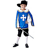 Musketeer - Child Costume 7-9 years