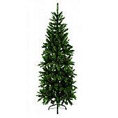 Christmas Pine Slim Christmas Tree 2.1 Metre