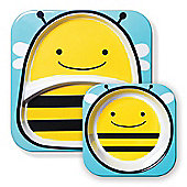 Skip Hop Zoo Tabletop Plate & Bowl Set - Bee