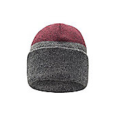 Mountain Warehouse Slope Mens Knitted Beanie - Red