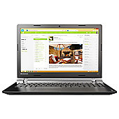 "Lenovo IdeaPad 100 15.6"" Intel Celeron 4GB RAM 500GB HDD Black Laptop"