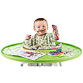 Tidy Tot All-in-One Bib & Tray Kit (Green)