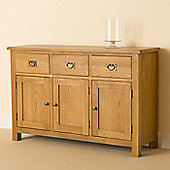 Lanner Large Sideboard - Rustic Oak