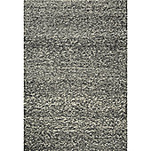 InRUGS Nature Anthracite Woven Rug - 200cm x 140cm (6 ft 6.5 in x 4 ft 7 in)