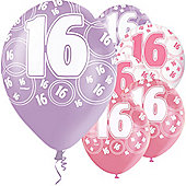 16th 12' Latex Balloons (6pk)
