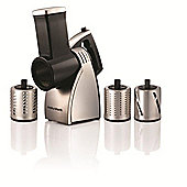 Morphy Richards 240W Food Slicer & Shredder - Black/Silver