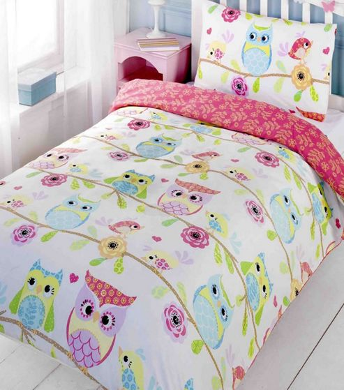 Buy Owl and Friends, Kids Bedding - Single from our Duvet ...