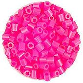 Hama Beads 1,000 - Neon Pink