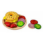 Plan Toys Bagel With Cheese
