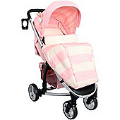 My Babiie Billie Faiers MB99 Pushchair (Pink Stripes)