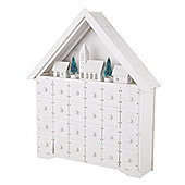 White Light Up House Advent Calendar