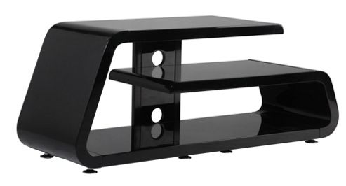 Gecko Gamma TV Stand - Gloss Black