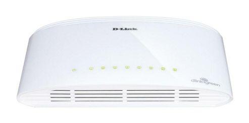 D-Link DGS-1008D 8-port 10/100/1000 Gigabit Metal Housing Desktop Switch
