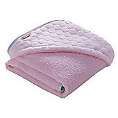 Clair de Lune Luxury Hooded Towel (Marshmallow Pink)