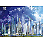 Tall Buildings - 1000pc Puzzle