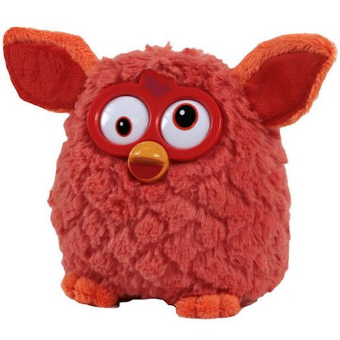 Furby 14cm Soft Toy - Orange