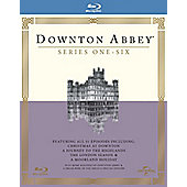 Downton Abbey Season 1-6 Blu-ray