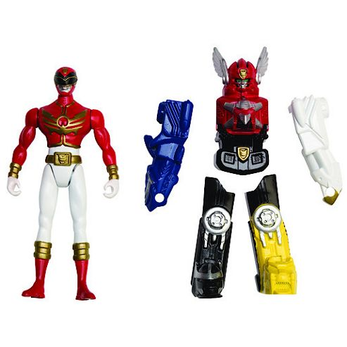 Power Rangers Megaforce - Zord and Red Ranger Figure