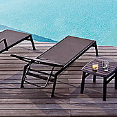 Varaschin Victor Sunbed with Wheels by Varaschin R and D (Set of 2) - Dark Brown