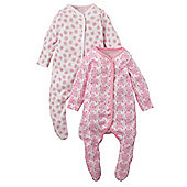 Mothercare Sleepsuits - 2 Pack