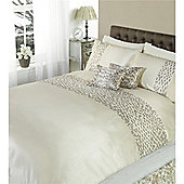 Dreams n Drapes Chic Oyster Single Quilt Set