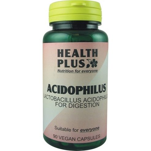 Health Plus Acidophilus 90 Veg Capsules