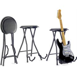 Rocket Guitar Stool & Stand