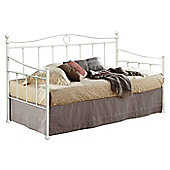 Sareer Furniture Essina Day Bed Frame - ivory