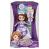 Disney Sofia the First 18cm Doll -Princess Sophia in Purple Dress