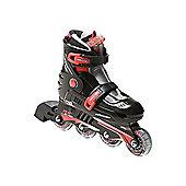 Xcess MX S780 Inline Skates - Black - Medium (junior 12 - Adult 2) - Black