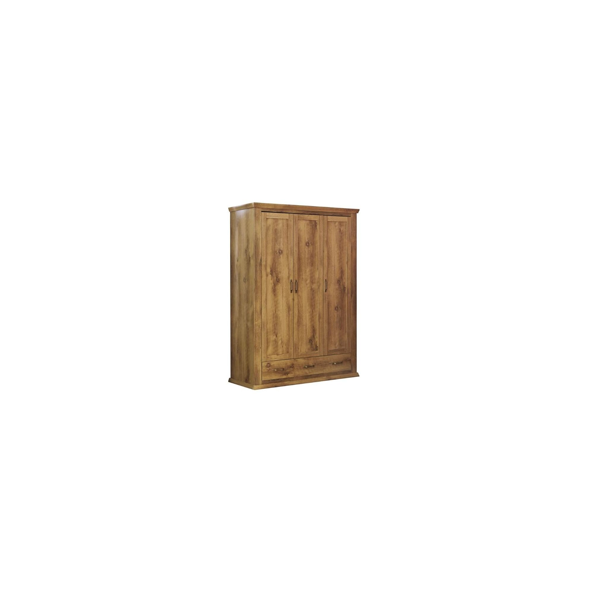 Urbane Designs Warwick 3 Door 3 Drawer Wardrobe at Tesco Direct