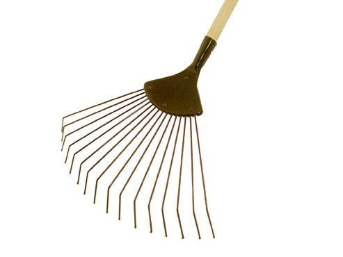 Sparko A334 Lawn Rake With Handle