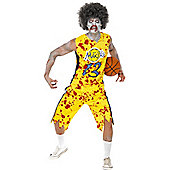 Zombie Basketball Player - Adult Costume Size: 42-44