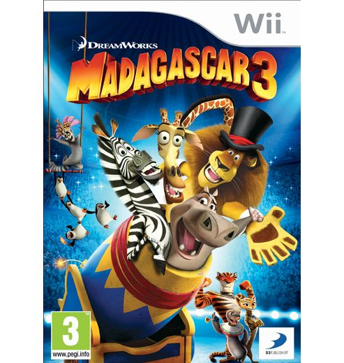 Madagascar 3 - Europe's Most Wanted (Wii)