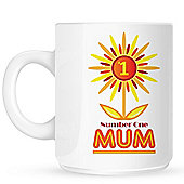 Number One Mum 10oz Ceramic Mug