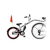Weeride Silver Co-Pilot Tagalong Bike