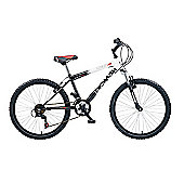 "Concept Demon 24"" Kids' Bike, Black/White"