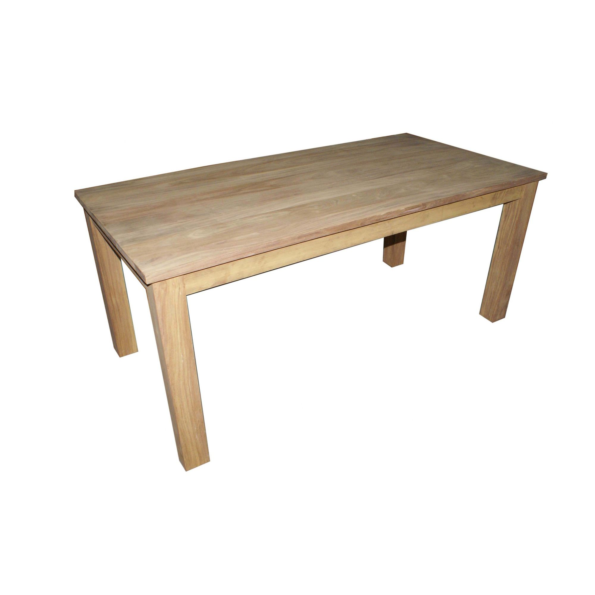 Wiseaction Lingfield Fixed Top Solid Oak Dining Table - 180cm