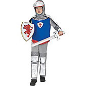 Child Sir Mordrede Knight Costume Medium