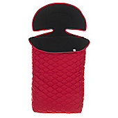 OBaby ZuZu Quilted Footmuff (Red)