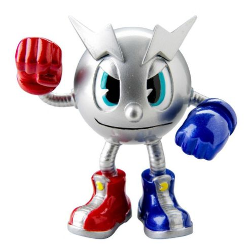 Pac-Man and the Ghostly Adventures Poseable Figure Metal Pac