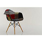 Eames Replica Dining Chair DAW Patchwork