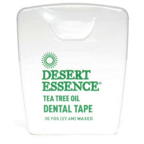 Desert Essence Tea Tree Dental Tape 30 yds 1 Pack