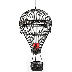 Hot Air Balloon Hanging Candle Holder