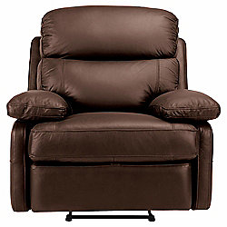 Cordova Leather Recliner Chair Chocolate